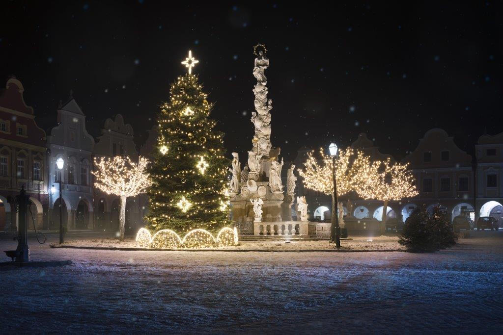 Vánoční Telč